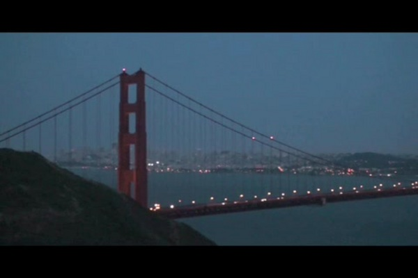 pictures of the golden gate bridge at night. Golden Gate Bridge (at night)