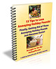 Thumbnail 15 Tips to Lose Annoying Holiday Pounds - with PLR