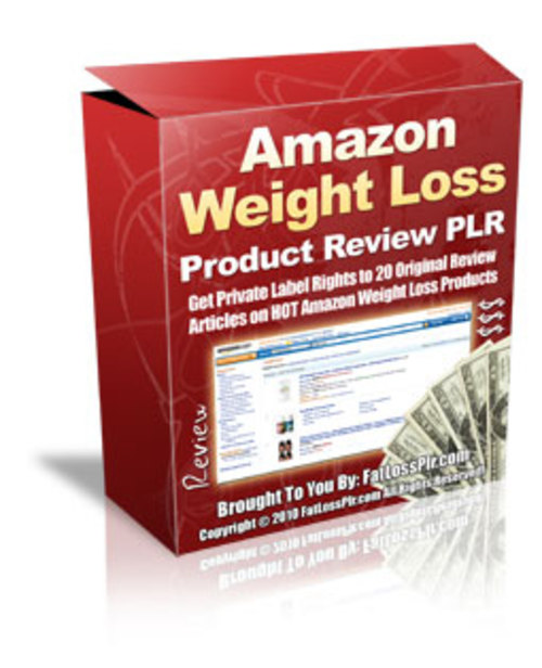 Pay for 20 Amazon Weight Loss Product Reviews - with PLR