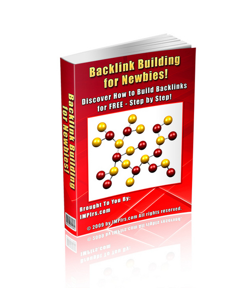 Pay for Backlink Building for Newbies - with PLR