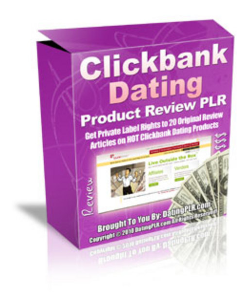 Pay for 20 Clickbank Dating Product Reviews - with PLR