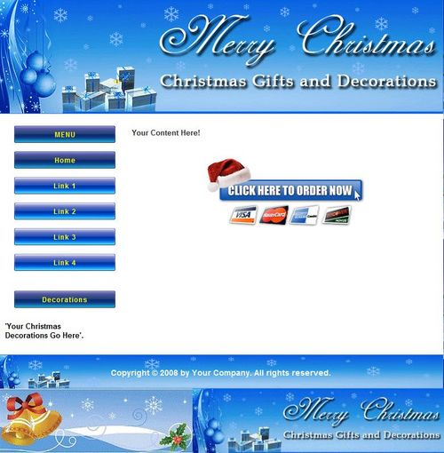 Pay for 12 Christmas Articles and Minisite Graphics - with PLR