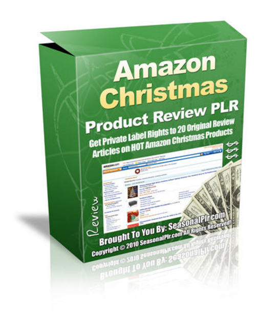 Pay for 20 Christmas Product Reviews - with PLR