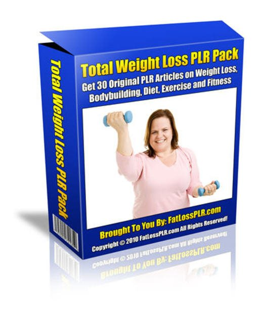Pay for Total Weight Loss Article Pack - with PLR
