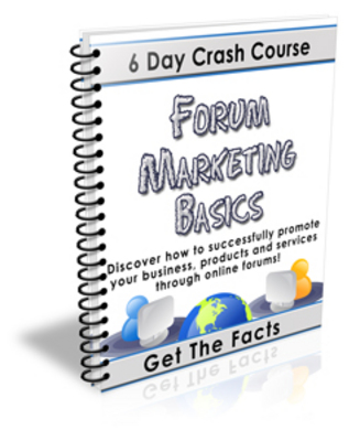 Pay for Forum Marketing Basics Course with PLR