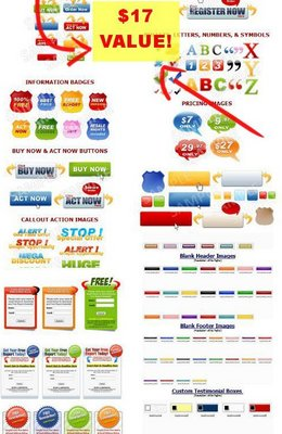 Pay for Mega Sales Graphics Pack with MRR