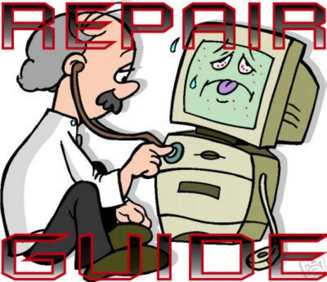 Pay for PC Computer Repair Guide- Learn to do it yourself Save Money