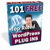 Thumbnail 101 Top Rated WordPress Plugins with MRR bonus