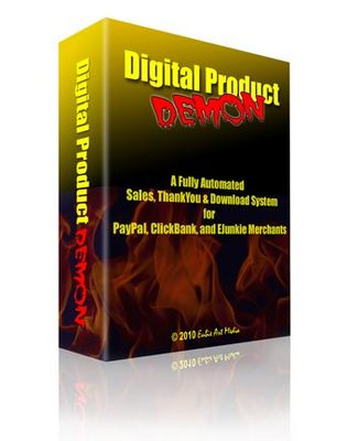 Pay for Digital Product Demon - A fully automated Sales! with MRR