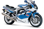 Thumbnail Suzuki GSX-R750 M Service Repair Manual 1991