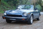 Thumbnail Fiat 124 Spider Service Manual 1975-1982