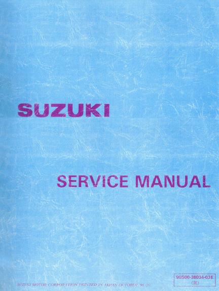 Thumbnail 1993 -  1997 Suzuki RF600R / RF900R Service Shop Manual