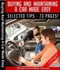 Thumbnail Buying and Maintaining A Car Made Easy