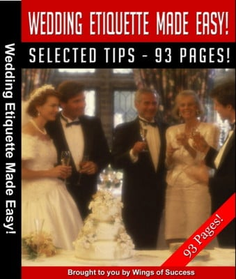 Pay for Wedding Etiquette Made Easy