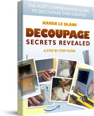 Pay for How To Create Beautiful Decoupage Projects Step By Step