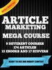 Thumbnail ARTICLE MARKETING MEGA COURSE
