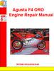 Thumbnail Agusta F4 ORO Engine Repair Manual