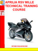 Thumbnail APRILIA RSV MILLE TECHNICAL TRAINING COURSE