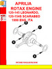 Thumbnail APRILIA ROTAX ENGINE 120-145 LEONARDO, 120-154S SCARABEO 199