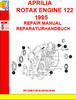APRILIA ROTAX ENGINE 122 1995 REPAIR MANUAL REPARATURHANDBUC