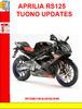 Thumbnail APRILIA RS125 2003 TUONO UPDATES