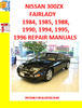 Thumbnail NISSAN 300ZX OR FAIRLADY,  1984, 85, 88, 90, 94, 95 and 96 S