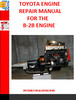 Thumbnail TOYOTA B-2B ENGINE REPAIR MANUAL