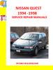 Thumbnail NISSAN QUEST 1994-1998 SERVICE REPAIR MANUALS
