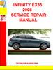 Thumbnail INFINITY EX35 2008 SERVICE REPAIR MANUAL