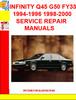 Thumbnail INFINITY Q45 G50 FY33 1994-1996 1998-2000 SERVICE REPAIR MAN