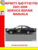 Thumbnail INFINITY Q45 FY33 F50 2001-2006 SERVICE REPAIR MANUALS