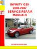 Thumbnail INFINITY G35 2006-2007 SERVICE REPAIR MANUALS