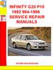 Thumbnail INFINITY G20 P10 1992 994-1996 SERVICE REPAIR MANUALS