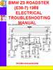 Thumbnail BMW Z3 ROADSTER (E36-7) 1998 ELECTRICAL TROUBLESHOOTING MANU