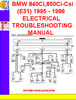 Thumbnail BMW 840Ci,850Ci-Csi (E31) 1994 - 1996 ELECTRICAL TROUBLESHOO