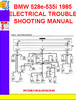 Thumbnail BMW 528e-535i 1985  ELECTRICAL TROUBLESHOOTING MANUAL