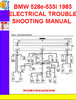 Thumbnail BMW 528e-533i 1983  ELECTRICAL TROUBLESHOOTING MANUAL