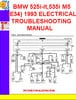 Thumbnail BMW 525i-it,535i M5 (E34) 1992-1993 ELECTRICAL TROUBLESHOOTI