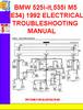 Thumbnail BMW 525i-it,535i M5 (E34) 1991-1992 ELECTRICAL TROUBLESHOOTI