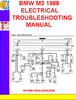 Thumbnail BMW M3 1988 ELECTRICAL TROUBLESHOOTING MANUAL