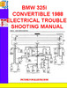 Thumbnail BMW 325i CONVERTIBLE 1988 ELECTRICAL TROUBLESHOOTING MANUAL