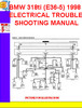 Thumbnail BMW 318ti (E36-5) 1998 ELECTRICAL TROUBLESHOOTING MANUAL