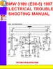 Thumbnail BMW 318ti (E36-5) 1997 ELECTRICAL TROUBLESHOOTING MANUAL