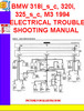 Thumbnail BMW 318i_s_c, 320i,325_s_c, M3 1994 ELECTRICAL TROUBLESHOOTI