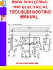 Thumbnail BMW 318ti (E36-5) 1995 ELECTRICAL TROUBLESHOOTING MANUAL