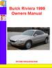 Thumbnail Buick Riviera 1999 Owners Manual
