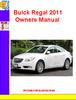 Thumbnail Buick Regal 2011 Owners Manual