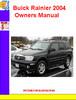 Thumbnail Buick Rainier 2004 Owners Manual