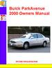 Thumbnail Buick ParkAvenue 2000 Owners Manual