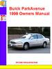 Thumbnail Buick ParkAvenue 1998 Owners Manual